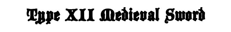 type-XII-medieval-sword-logo