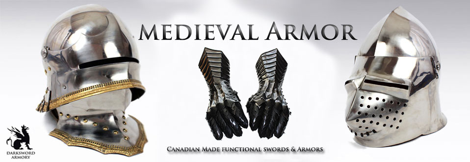 Medieval Armor and Gauntlets