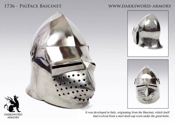 PigFace Bascinet (#1736)