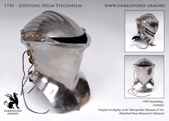 Jousting Helm Stechhelm (#1741) 1