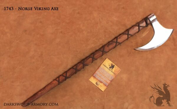 Danish Viking Axe (#1743)