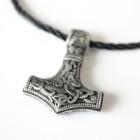 Mjölnir Hammer of Thor Pendant (#4021) 2
