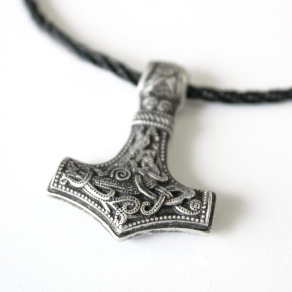Mjölnir Hammer of Thor Pendant (#4021)