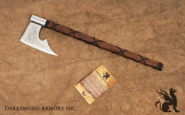 Norse Fantasy Viking Axe (#1746)