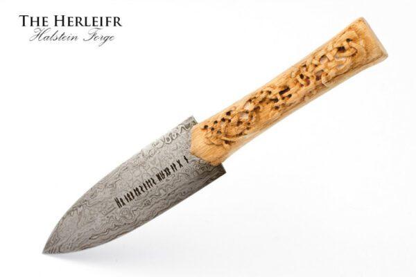 1908-hand-forged-viking-dagger-damascus-steel-dagger-herleifr
