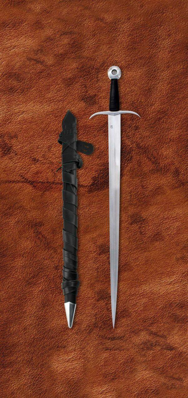 archer-sword-arming-medieval-sword-1313-scabbard