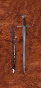 damascus-crusder-medieval-sword-1612-scabbard