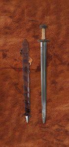 damascus-einar-elite-medieval-sword-1613-scabbard