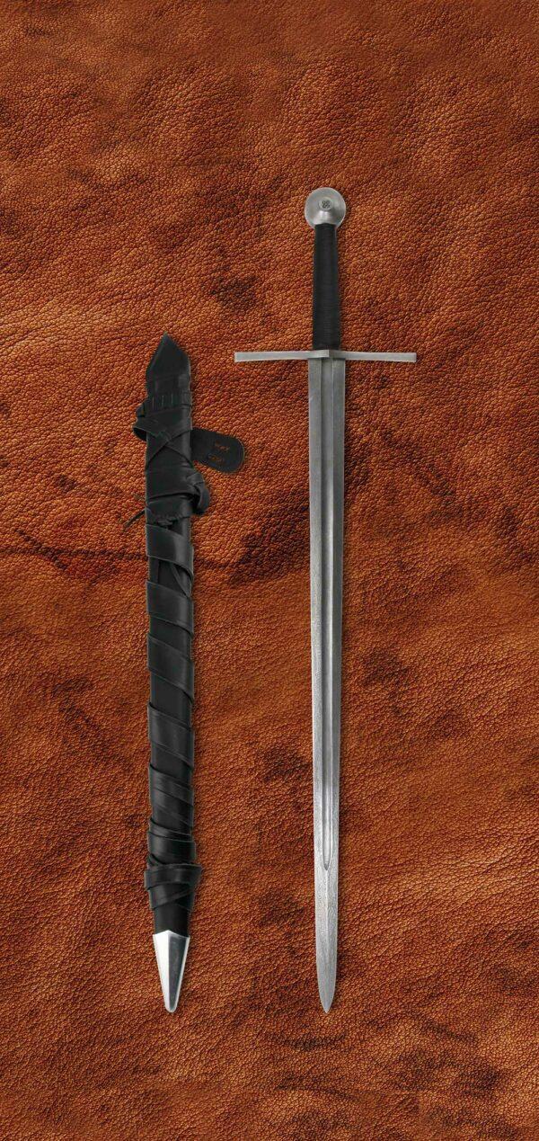 damascus-templar-elite-sword-1604-scabbard