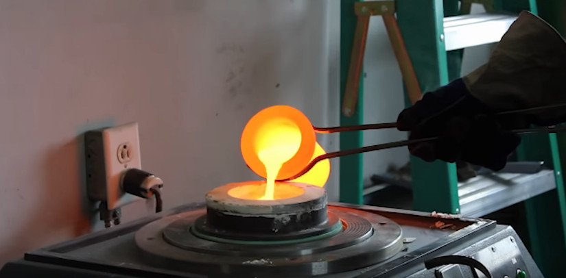 bronze casting medieval weapons