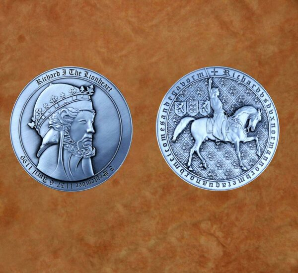 polished-silver-richard-lionheart-collectible-medieval-coin