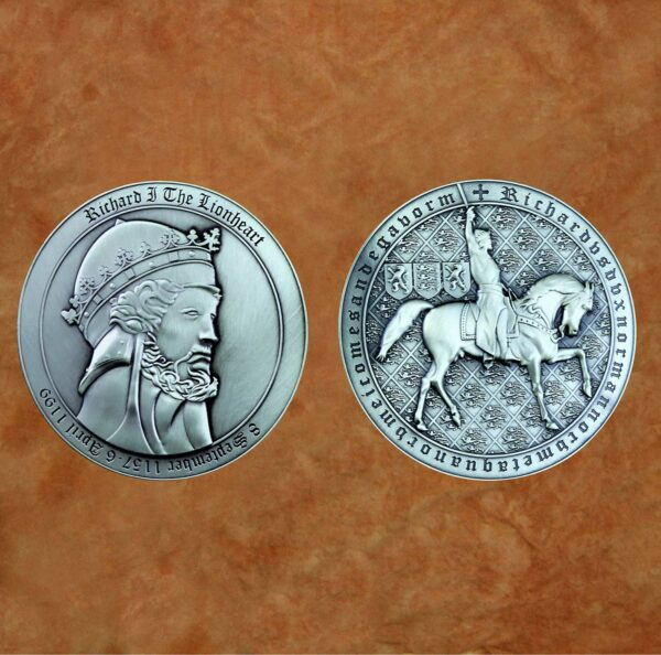 satin-silver-richard-lionheart-collectible-medieval-coin
