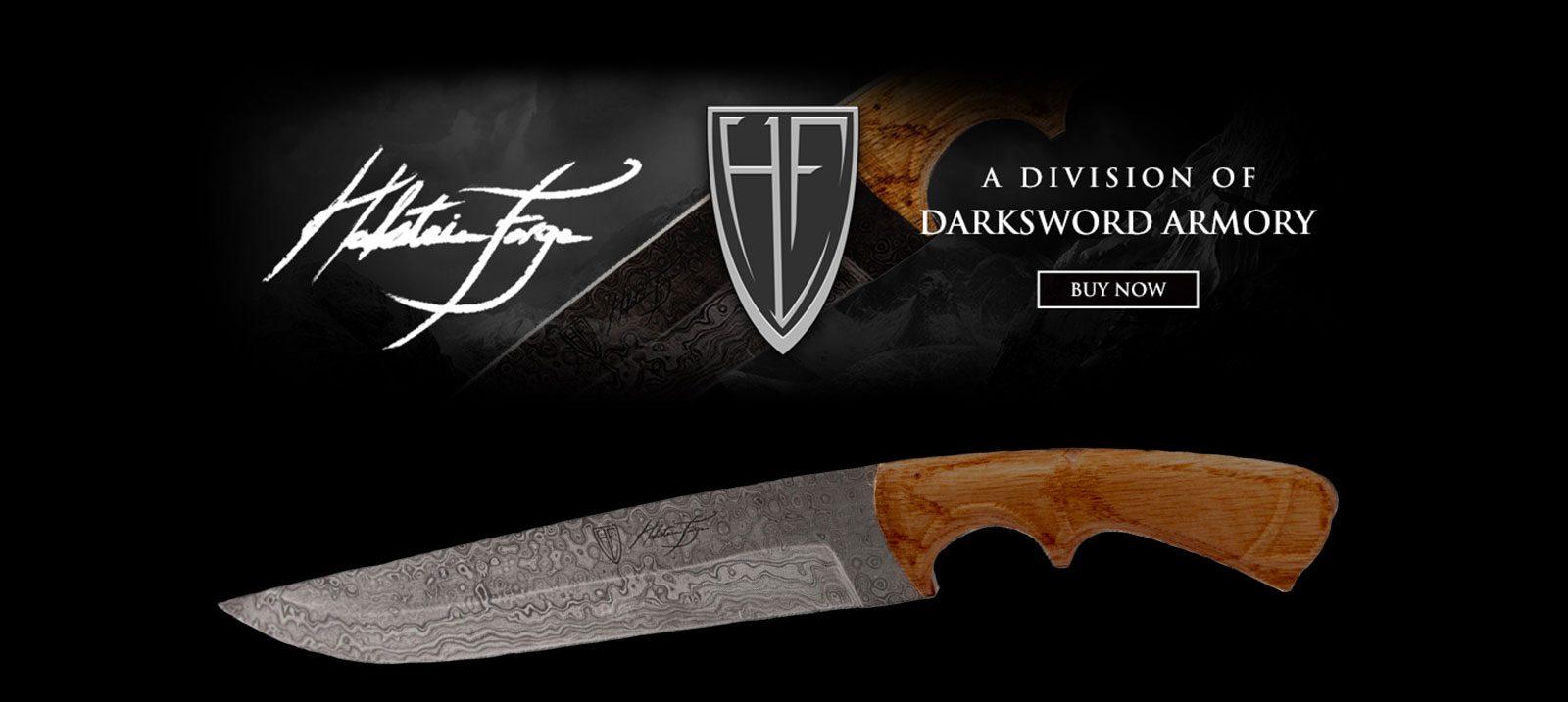 damascus-steel-knife-halstein-forge-banner