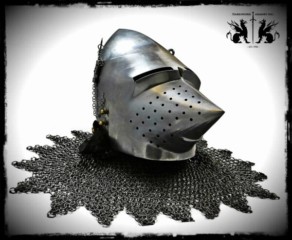 wallace-pig-face-basinet-1748-medieval-armor-mild-steel-0