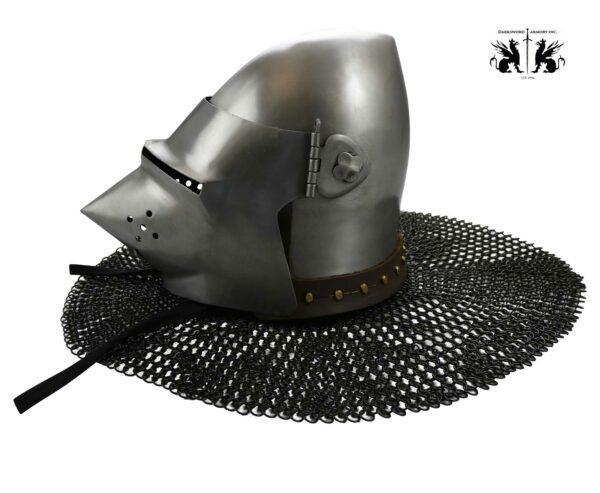wallace-pigface-bascinet-medieval-armor-helmet-1748-1