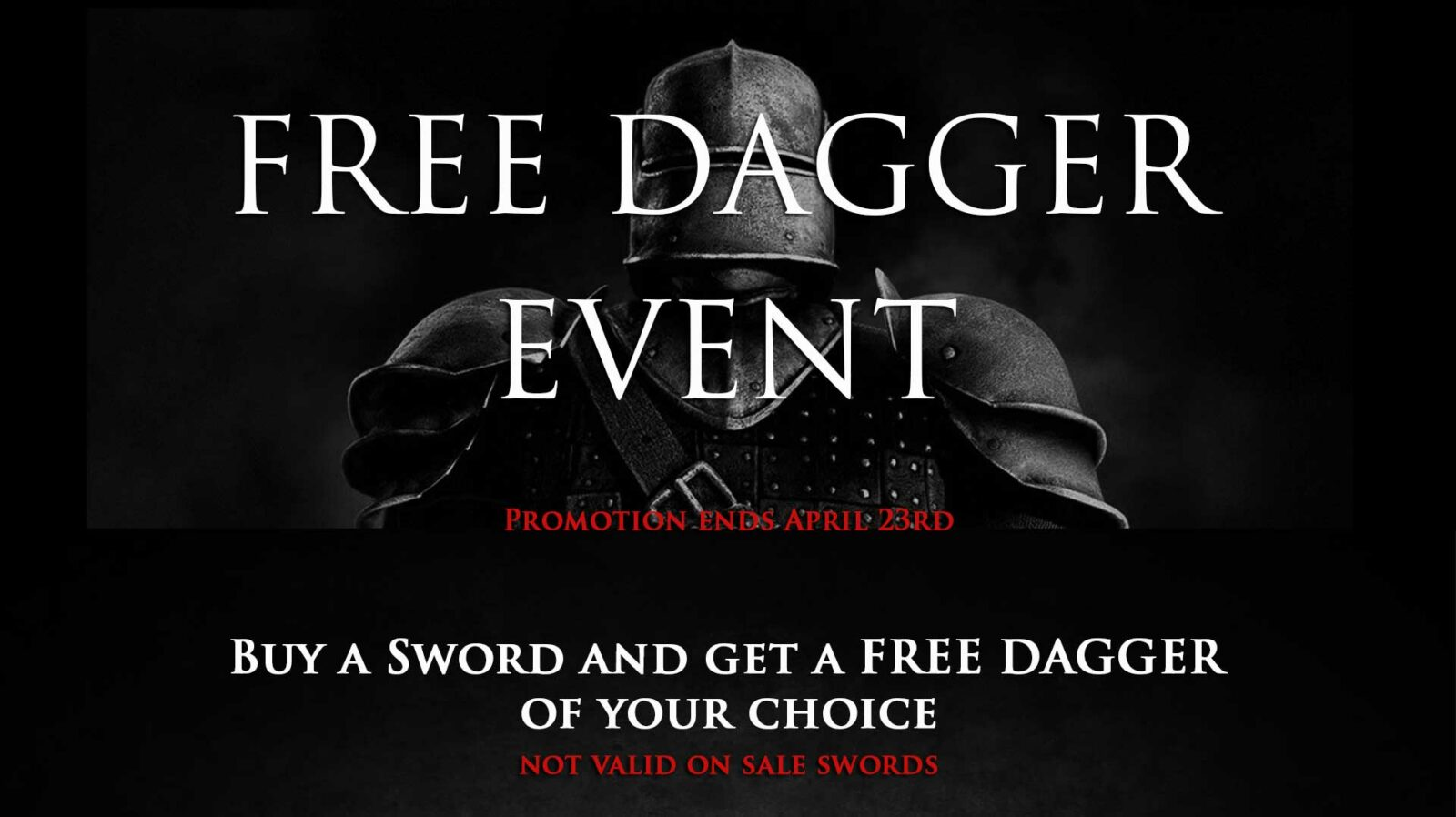 free-dagger-medieval-sword-sale-banner-1