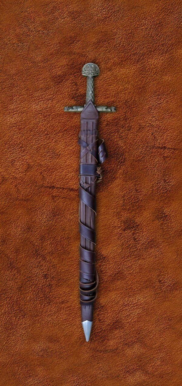 charlemagne-sword-medieval-weapon-darksword-armory-verticle-in-scabbard