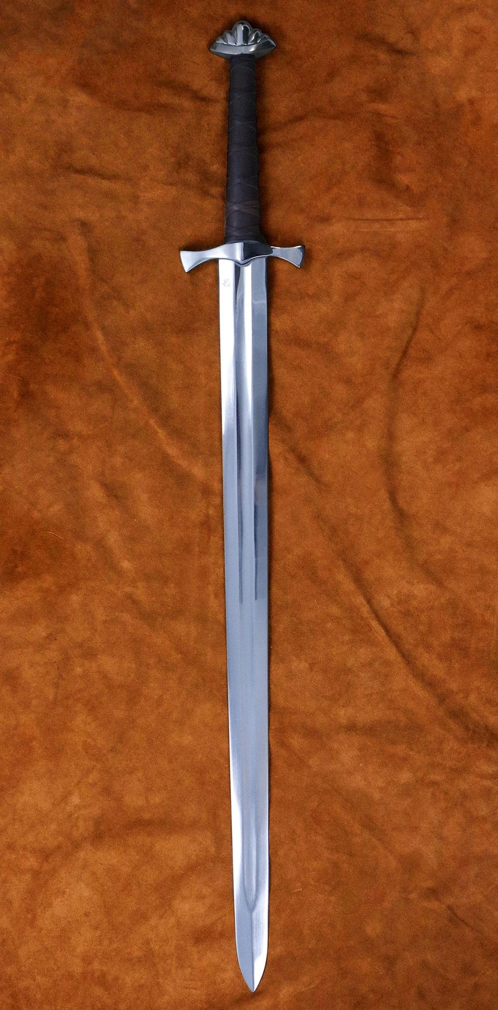 Two Handed Viking Five Lobe Sword