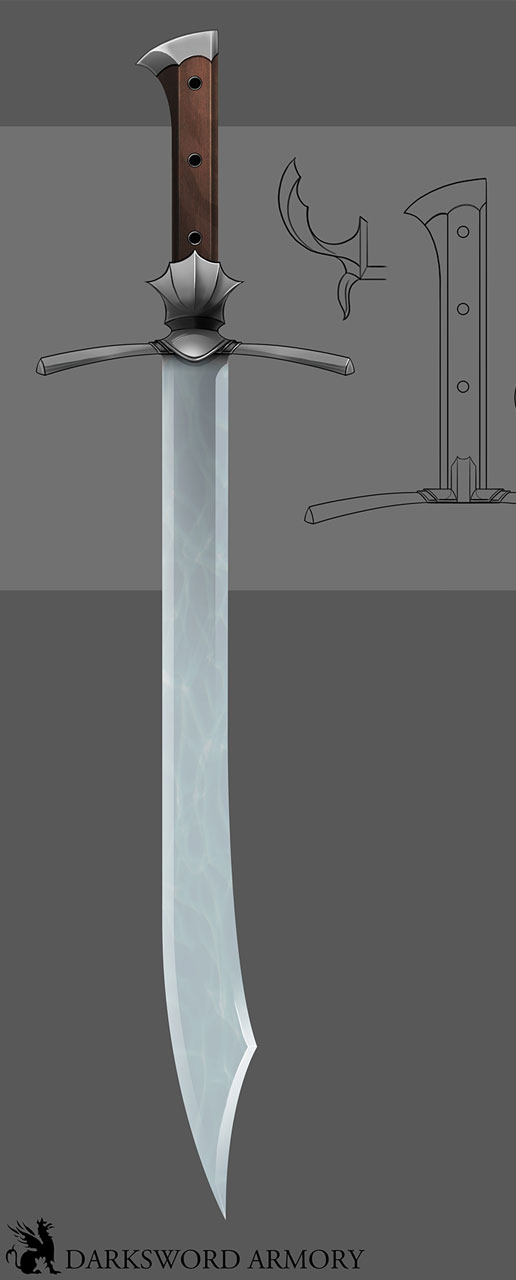 new-falchion-messer-german-sword-darksword-armory-developments