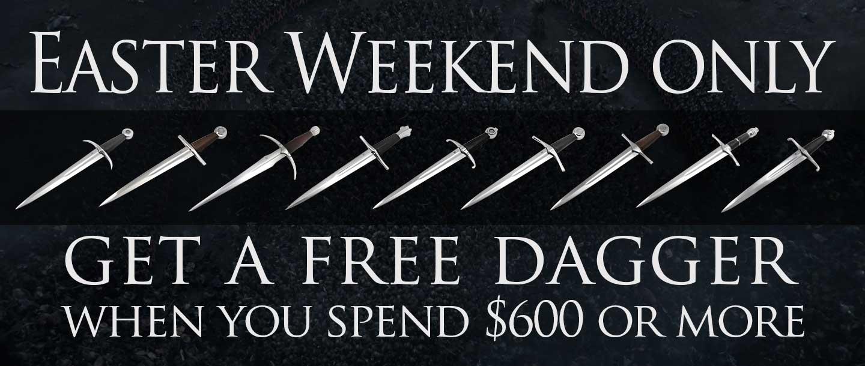free-dagger-banner-easter-weekend