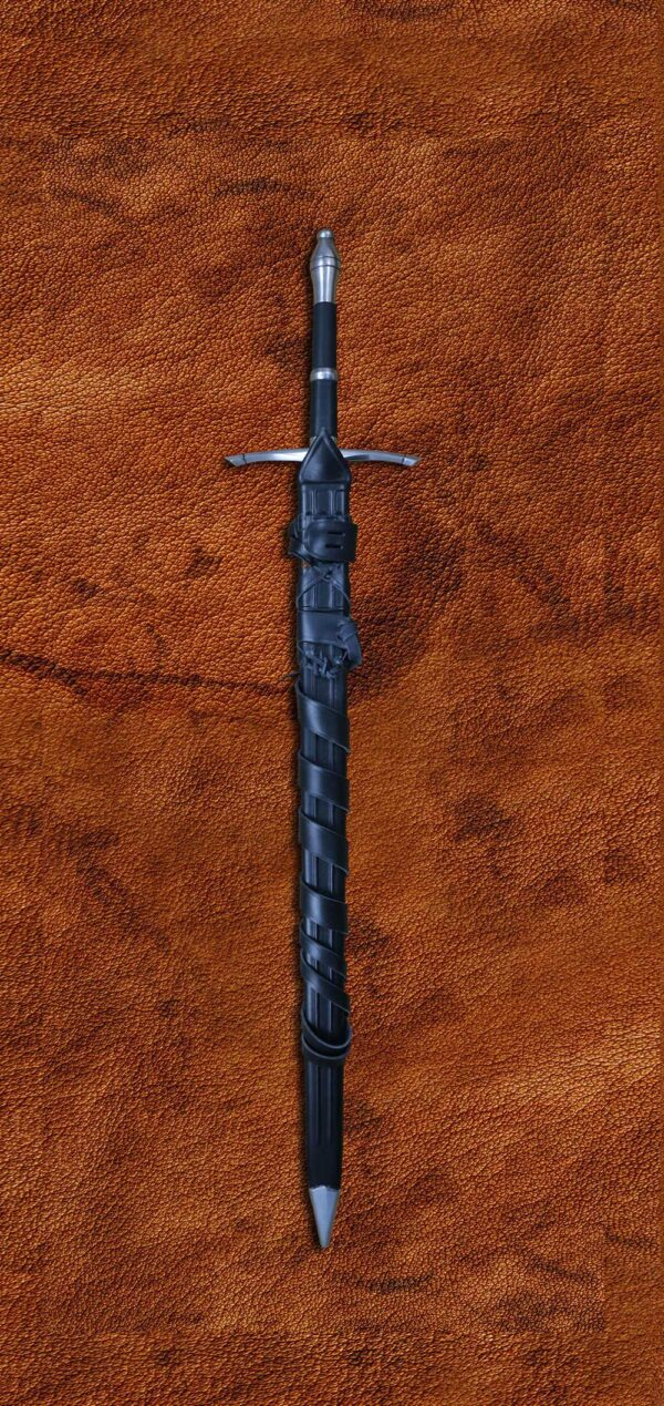 folded-steel-ranger-sword-medieval-weapon-darksword-armory-2