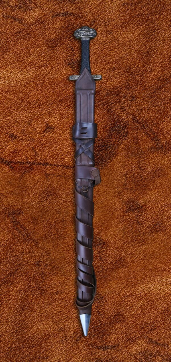 Einar Sword Folded Steel Blade (#1206)