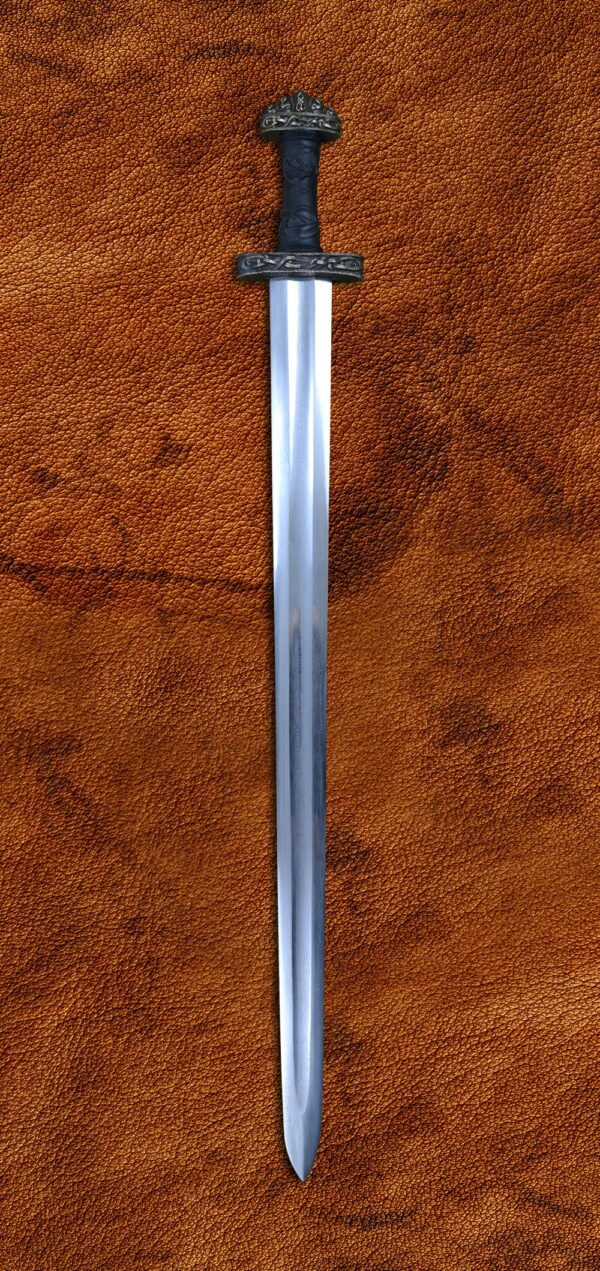 Oslo Sword Folded Steel Blade (#1205)