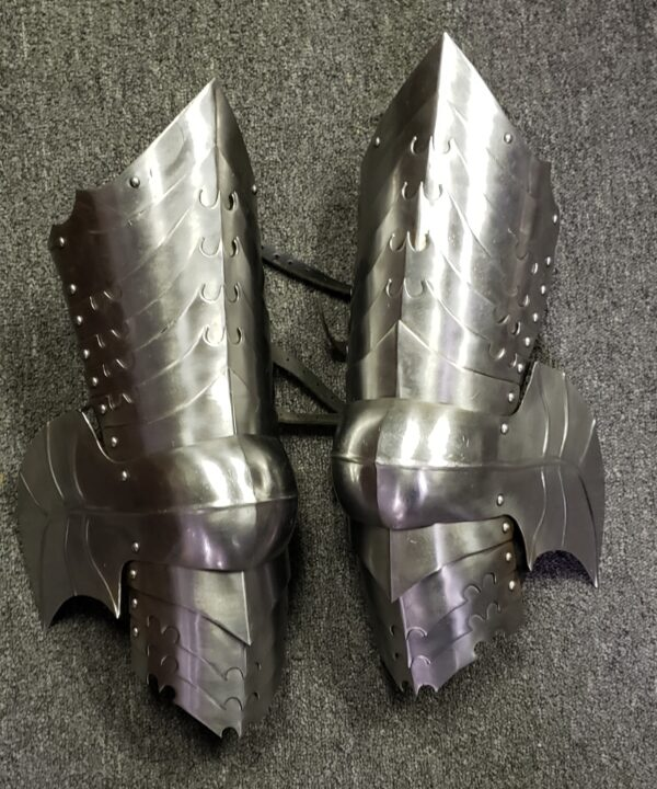 Fallen Warrior fantasy leg armor