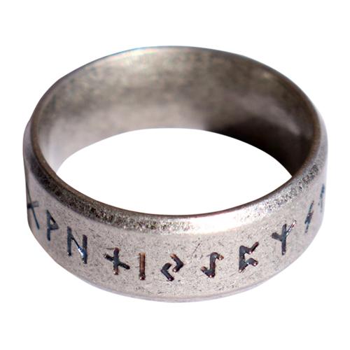 Viking Warrior Runes Ring (4045)