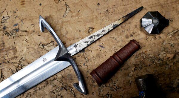 The Black Knight Medieval Sword (#1312)