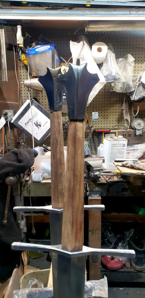 Two Handed Medieval Sword (#1332)
